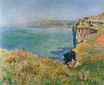 Claude Monet - Cliff at Grainval 1882