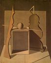 Giorgio Morandi - Metaphysical Still Life with Triangle 1919