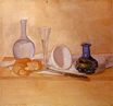 Giorgio Morandi - Still Life. The Blue Vase 1920