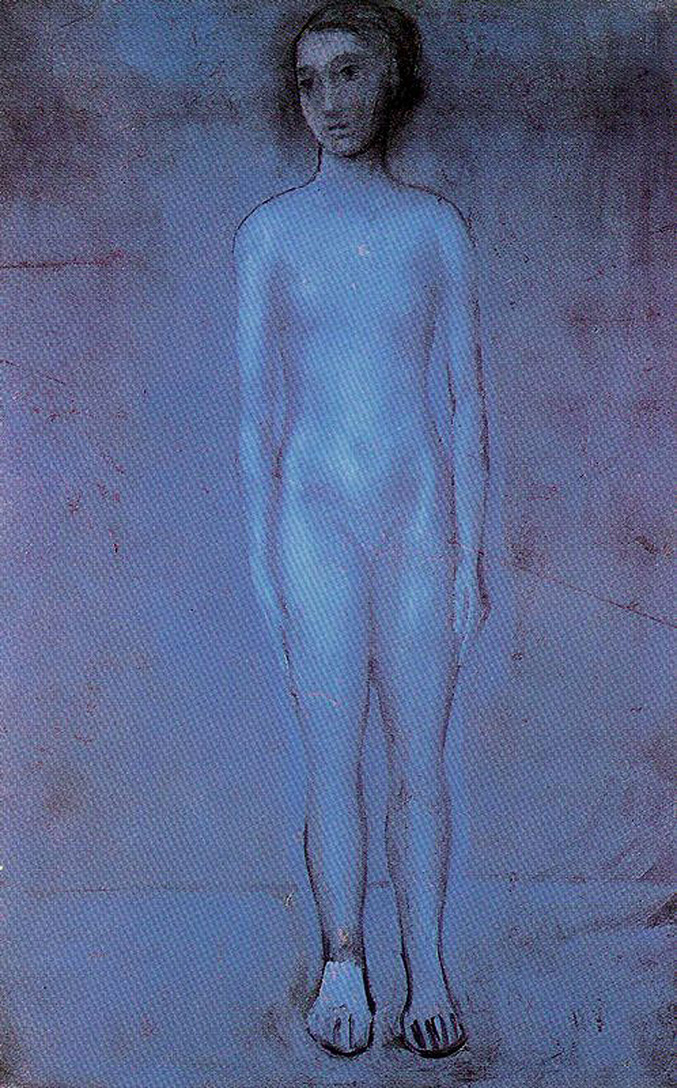 Standing young nude 1904