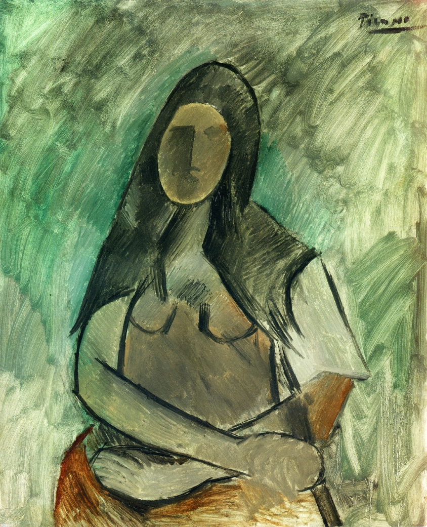 Seated woman 1909