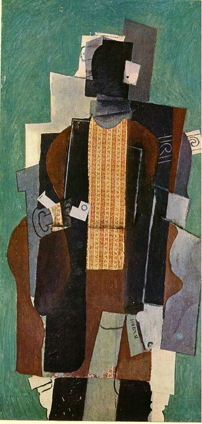 Man with pipe 1914
