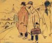 Pablo Picasso and Sebastìa Junyer-Vidal arrives to Paris 1901