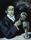 The Absinthe Drinker. Portrait of Angel Fernandez de Soto 1903