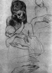 Mother and child, study 1904