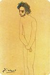 Portrait of nude Casagemas 1904
