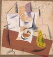 Composition with a Sliced Pear 1914