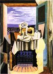 Still life in front of a window at Saint-Raphael 1919