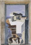 Still Life in Front of an Open Window at Saint-Raphael 1919