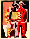 Pierrot and harlequin 1920