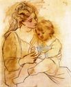 Mother and child 1922