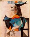 Seated Woman with Fish 1942