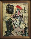 Seated Woman with Red Hat 1956