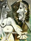 Naked woman and musketeer 1967