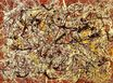 Jackson Pollock - Mural on Indian red ground 1950