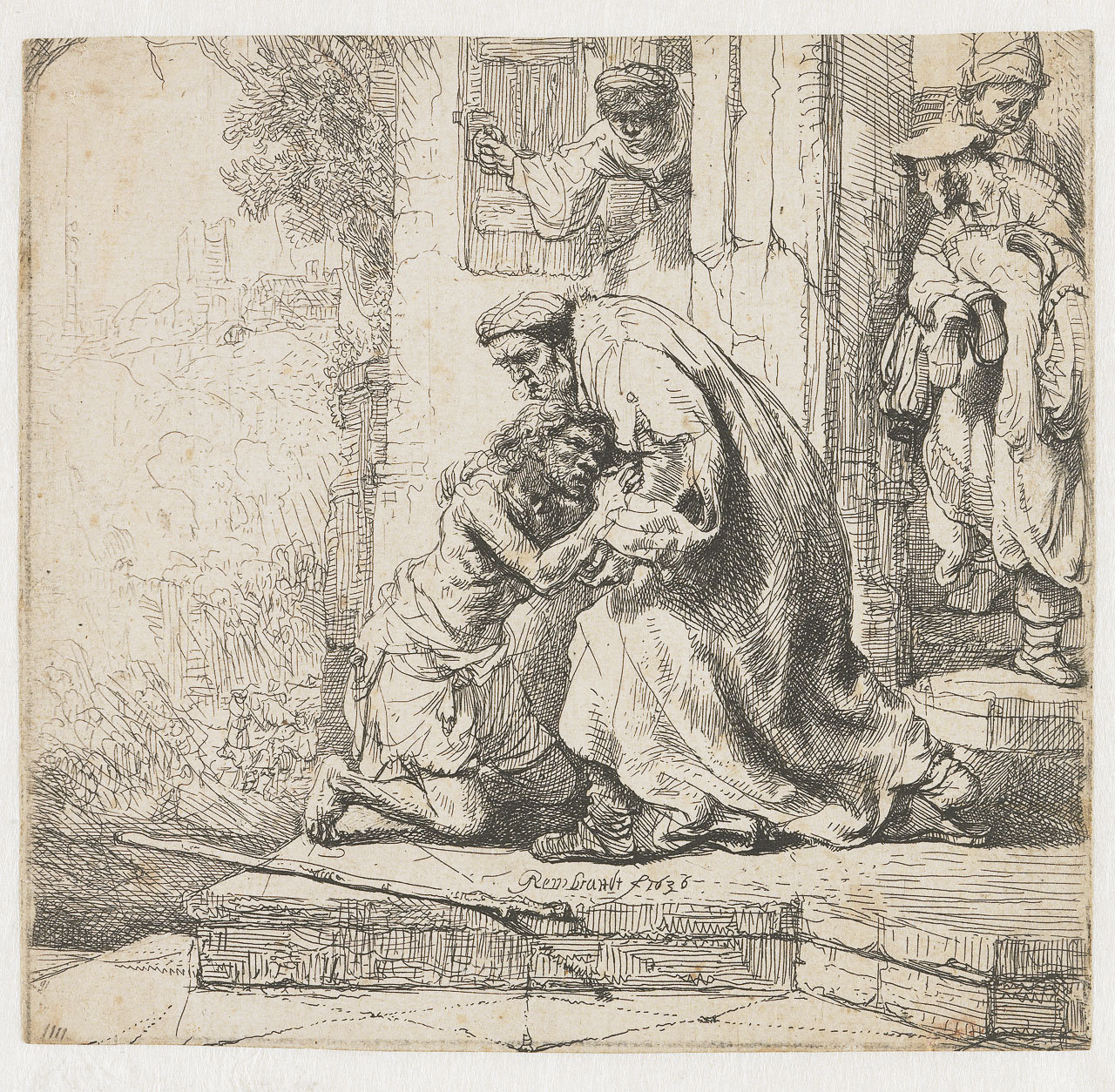 Rembrandt van Rijn - The return of the prodigal son 1636