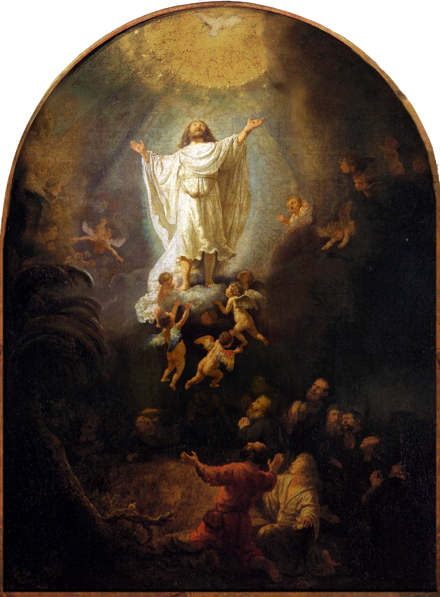Rembrandt van Rijn - The Ascension Of Christ 1636