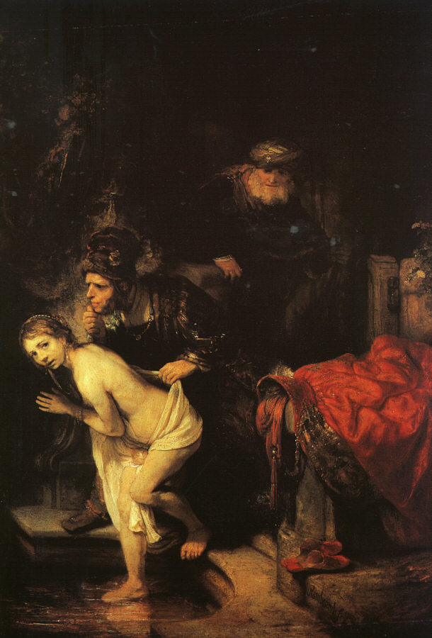 Rembrandt van Rijn - Susanna and the Elders 164
