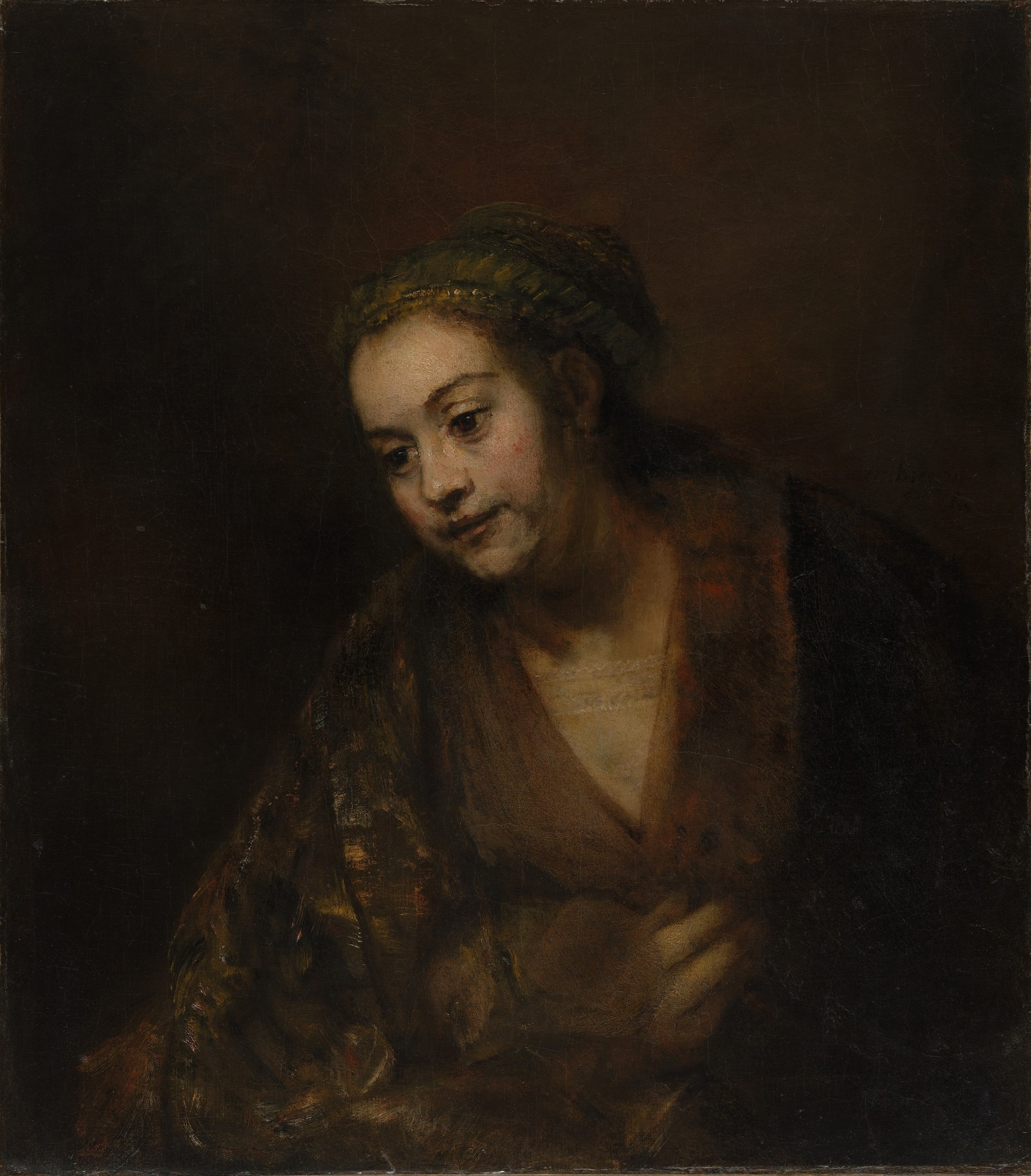 research paper about 1660 rembrandt self