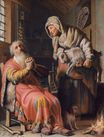 Rembrandt van Rijn - Tobit and Anna with the Kid Goat 1626