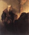 Rembrandt van Rijn - Saint Paul at his Writing-Desk 1629-1630