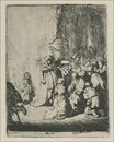 Rembrandt van Rijn - The Presentation in the Temple with the Angel 1630