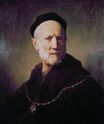 Rembrandt van Rijn - Bust of an Old man with a Cap and a Gold Chain 1631