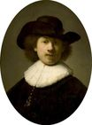 Rembrandt van Rijn - Portrait of the Artist as a Burgher. Self Portrait 1632