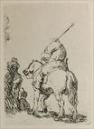 Rembrandt van Rijn - Turbaned Soldier on Horesback 1632