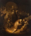 Rembrandt van Rijn - Adoration of the Magi 1632
