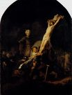 Rembrandt van Rijn - The Elevation Of The Cross 1633