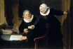 Rembrandt van Rijn - The Shipbuilder and his Wife 1633
