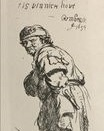 Rembrandt van Rijn - A Beggar and a Companion Piece, Turned to the Left 1634