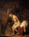 Rembrandt van Rijn - Susanna at the Bath 1634