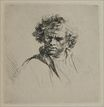 Rembrandt van Rijn - A Man with Curly Hair 1635