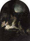 Rembrandt van Rijn - The Entombment 1635-1639