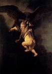 Rembrandt van Rijn - The Abduction of Ganymede 1635