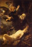 Rembrandt van Rijn - The Sacrifice of Abraham 1635