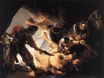 Rembrandt van Rijn - The Blinding of Samson 1636