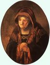 Rembrandt van Rijn - Portrait of artist's mother 1639