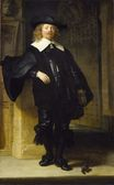 Rembrandt van Rijn - Full Length Portrait of a Standing Man 1639