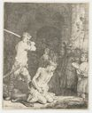 Rembrandt van Rijn - The beheading of John the Baptist 1640