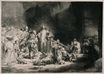 Rembrandt van Rijn - The Hundred Guilder Print 1643-1650