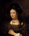 Rembrandt van Rijn - Saskia, the Artist's Wife 1643