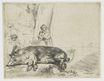 Rembrandt van Rijn - The hog 1643