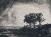 Rembrandt van Rijn - The Three Tree 1643