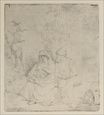 Rembrandt van Rijn - A Repose In Outline 1645