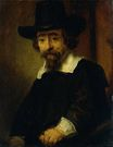 Rembrandt van Rijn - Dr Ephraim Bueno, Jewish Physician and Writer 1647
