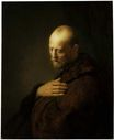 Rembrandt van Rijn - Old Man in Prayer