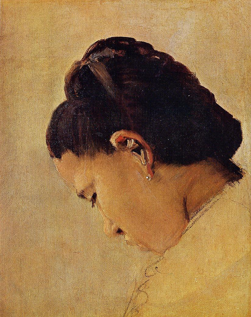 Head of a Girl 1879